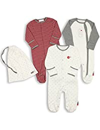 Baby Pack Of 3 Footie Sleeper
