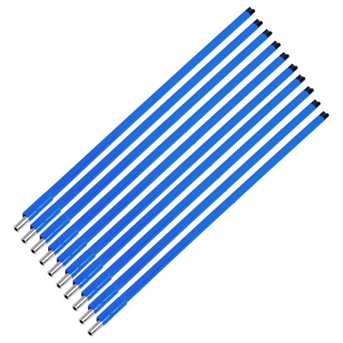 Electric Guitar Truss Rod Double Style Two Way Type A3 Steel For Guitars Parts And Hardware 4147.5 mm Blue (10 Pcs)
