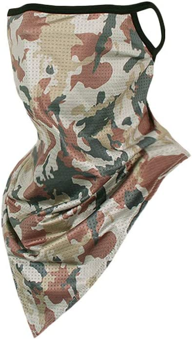 LEEDY Couple Seamless Camouflage Riding Windproof Sunscreen Camouflage Scarf