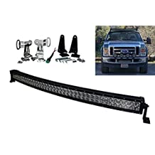 "E-US Series Curved 40"" OZ-USA 240w Ultra Spot LED Light Bar Off road Fog Hyper Beam 4x4 Racing UTV SUV ATV Truck 12v - 32 volts"