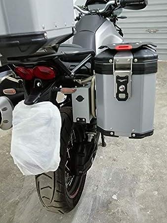 Mytech Werkzeugkoffer Werkzeugkiste 3 2 Liter Toolbox Aluminium Für Moto Guzzi V85tt Silber Auto