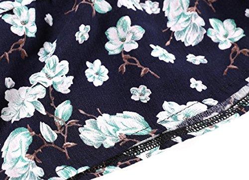 Coolred-femmes Sans Manches Glissement Impression Florale Confortable Robe De Soirée Comme Image