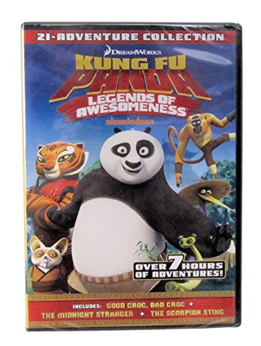 Kung Fu Panda Legends of Awesomeness 21-adventure Collection
