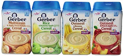 Gerber Cereal Assorted Flavor Variety