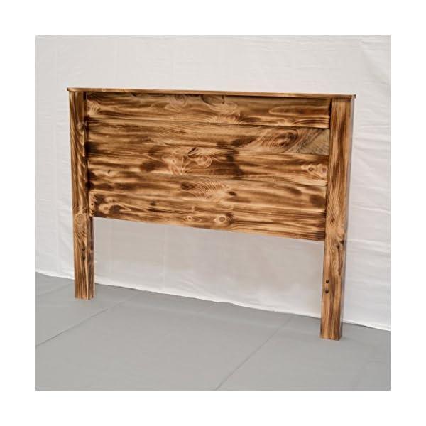Torched Farmhouse Headboard - King/Wood Reclaimed Headboard/Modern/Urban/Cottage Headboard