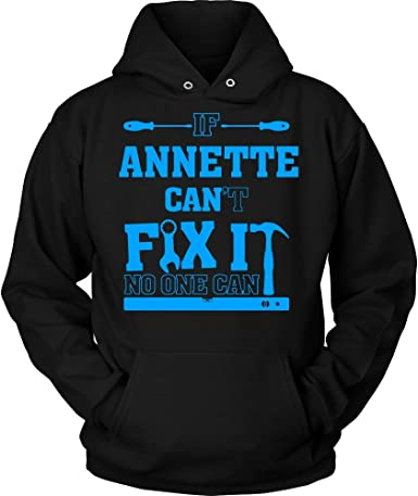 IF Annette Cant FIX IT NO ONE CAN Hoodie Shirt Premium Shirt Black