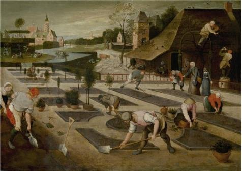 Oil Painting 'Spring, 1607 By Abel Grimmer' Printing On High Quality Polyster Canvas , 20x28 Inch / 51x72 Cm ,the Best Laundry Room Gallery Art And Home Gallery Art And (Dana 20 Yoke)