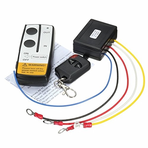 12V 315MHz 15m/50ft Winch in Out Wireless Remote Controller Switch Kit for Jeep Truck ATV SUV imported
