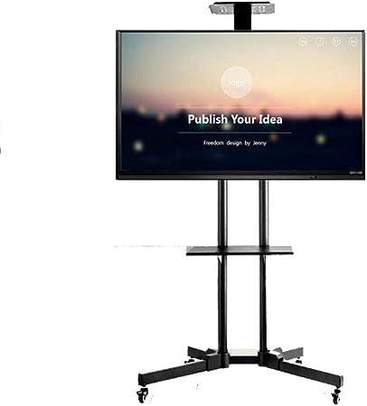HANG Rodando Soporte para TV móvil de la TV Carro, para 32-65 Pulgadas LCD televisores LED 360º Giratorio de Ajuste de Altura del Ministerio del Interior Dormitorio: Amazon.es: Hogar
