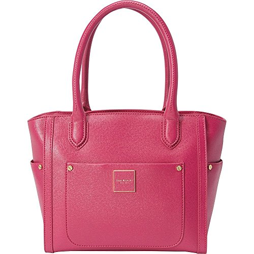 isaac-mizrahi-designer-handbags-valerie-saffiano-satchel-color-fuchsia
