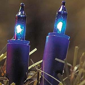 Bombilla de repuesto, para transparente/Coloridos Mini Cadenas de luz azul, 5unidades)