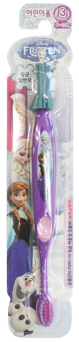 Disney Frozen Niña de Elsa Anna cepillo de dientes (morado Elsa figura (de nieve)): Amazon.es: Hogar