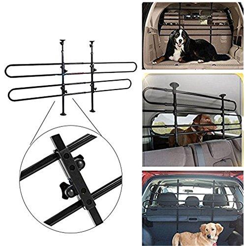 Gototop Adjustable Car Pet Barrier Secure Safety Guard Barrier Fence Travel New