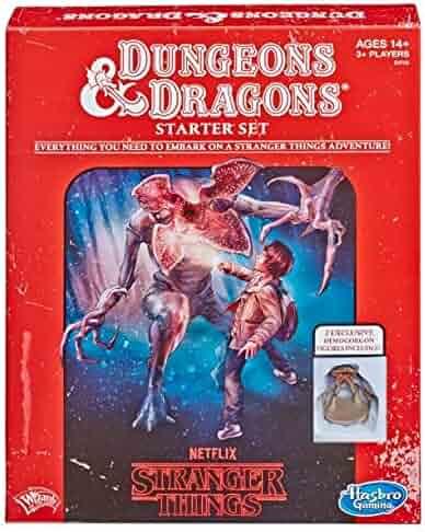 Hasbro Stranger Things Dungeons & Dragons Roleplaying Game Starter Set