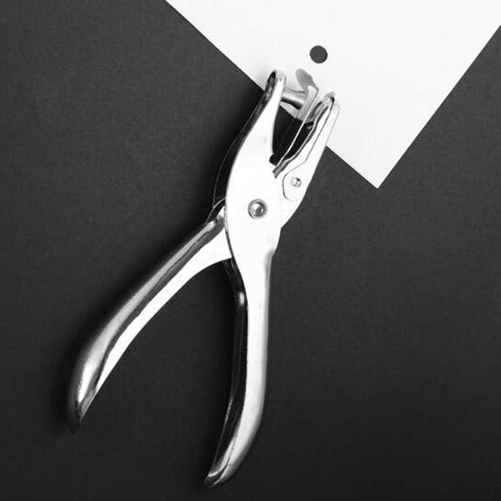 3 millimetri perfk Perforatore Singolo Foro Punch Fogli Staccabili Perforatrice Fatto di Metallo