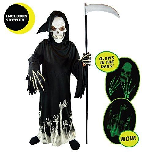 Spooktacular Creations Deluxe Grim Reaper Children Costume Set (Spooktacular Halloween)