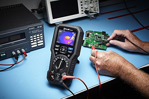FLIR DM284-FLEX-KIT Professional Imaging Multimeter Kit Includes: DM284-KIT + TA10-F + TA74