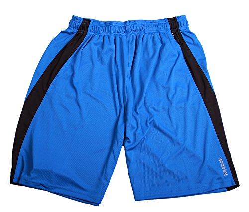 Shorts Soccer Reebok (Reebok Mens Breathable Mesh Sport Athletic Shorts (Medium, Blue))