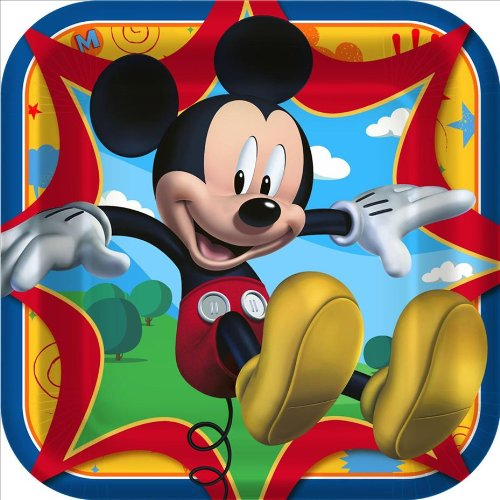 Hallmark Mickey Mouse 'Fun and Friends' Large Paper Plates (8ct)