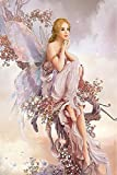 #2: DIY 5D Diamond Painting Kit, Butterfly Fairy Embroidery Rhinestone Cross Stitch Arts Craft Supply for Home Wall Decor