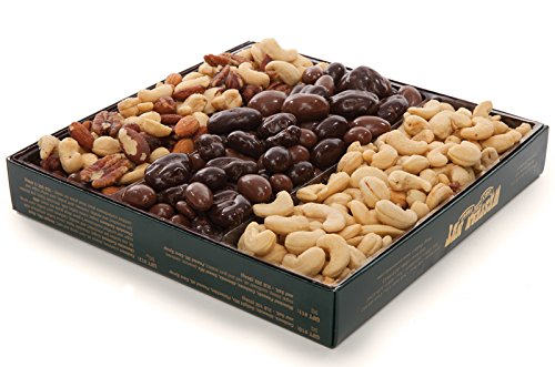 (Western Nut Company Forest Gold Gift Box, Nut Lover's Deluxe Mix Pack, 2 lbs 4 oz)
