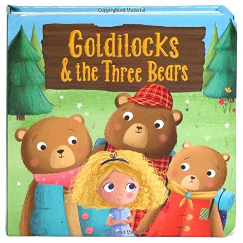 Goldilocks and the Three Bears: Children's Board Book (Little Bird Greetings) (Little Bird Stories)