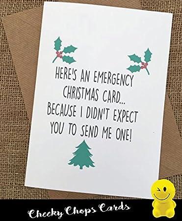 Funny Rude Cheeky pica tarjetas - Navidad/Navidad - Tarjeta de ...