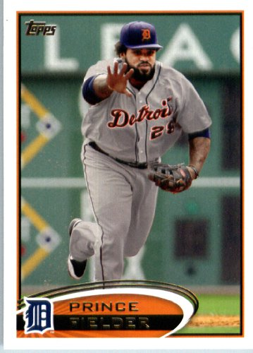 2012 Topps Baseball Card # 650 Prince Fielder - Detroit Tigers - MLB Trading Card