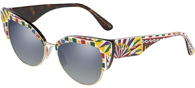 Dolce & Gabbana 0DG4346 Gafas de sol, Barrow White On Havana ...