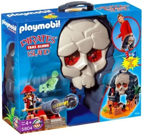 Playmobil Isla Del Tesoro Maletín: Amazon.es: Juguetes y juegos