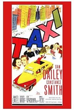 Cartel de la película Taxi - 69 cm x 102 cm 27 x 40 Dan ...