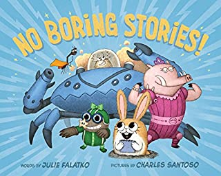Book Cover: No Boring Stories!