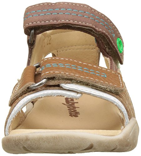 Babybotte Tandem Brown punta Sandali aperta cammello con per bambini 473 qqdrOpwx