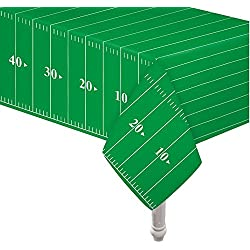 "Pack of 3 Game Day Football Touchdown Tablecover 54""x78"" by Oojami"