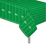 football decoration for party - Pack of 3 Game Day Football Touchdown Tablecover 54