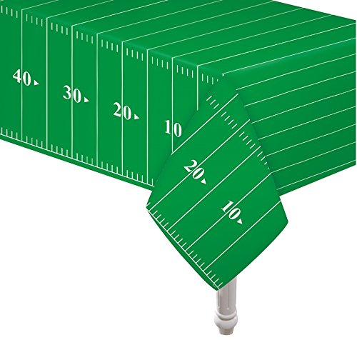 Pack of 3 Game Day Football Touchdown Tablecover 54