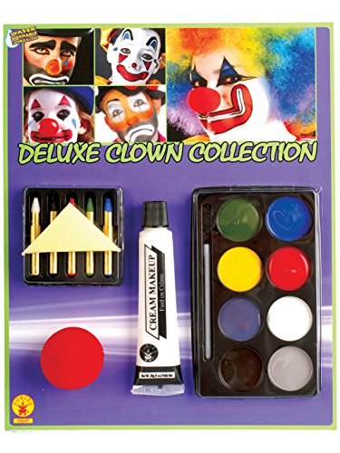 Rubies Deluxe Clown Make-Up Kit]()