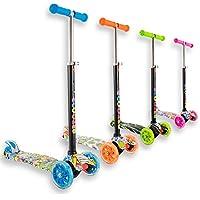 Staro Roller 3starke Räder LED leicht für Kinder 2bis 10Jahre höhenverstellbar einfaches Lernen