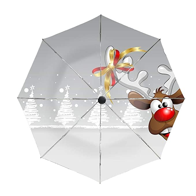 81ff74a40eea Amazon.com: 3D Mark Snail Travel Umbrella,Sturdy UV Protection ...