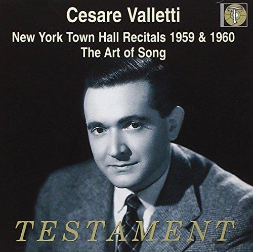 New York Town Hall Recitals 1959 & ()