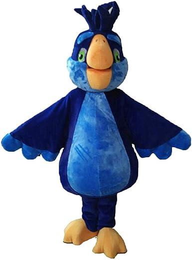 ARISMASCOTS Disfraz de Loro Azul para Adultos para Usar con ...