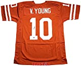 Vince Young Signed Autographed Texas UT Longhorns Custom Jersey TRISTAR COA