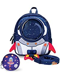 Kids Backpack with Safety Leash,Anti-lost Toddler Backpack for Boys Girls