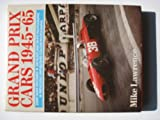 Directory of Grand Prix Cars, 1945-65, Lawrence, Mike, 0946627460
