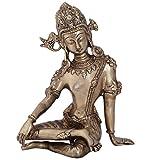 Ratnatraya Brass Sitting Indra Dev Statue