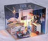 Kit main Dollhouse Set etoiles bleues miniatures vous amene à voir les etoiles