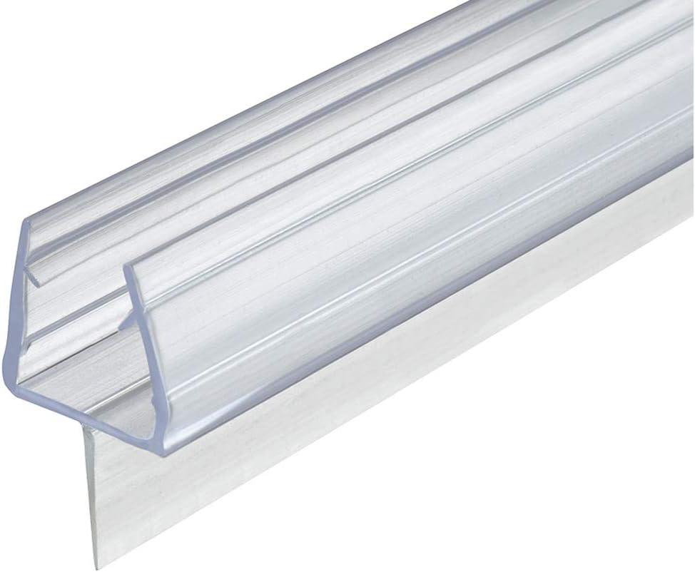 Gedotec - Junta para puerta de cristal (200 cm, para mamparas de ...