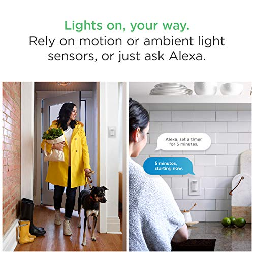 ecobee Switch+ Smart Light Switch, Amazon Alexa Built-in