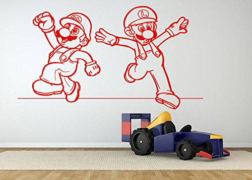 Wall Room Decor Art Vinyl Decal Sticker Mural Famous Popular Video Game Characters heroes Poster Kids Bedroom Nursery Boy Girl AS339