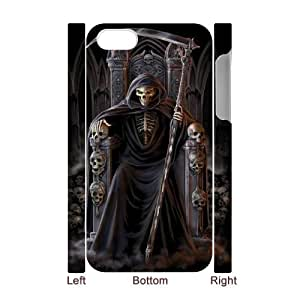 HOPPYS Diy hard Case Grim Reaper customized 3D case For Iphone 4/4s